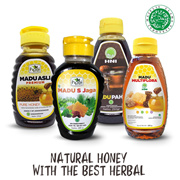 Get 2 Bottles of NATURAL HONEY WITH THE BEST HERBAL - HALAL MUI