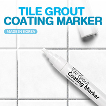★Tile Coating Marker★[Made In Korea] Clean Spaces Between Tiles Stains Bathroom Kitchen Porch Patio.