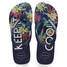 Havaianas Top Tropical Sandal Navy Blue