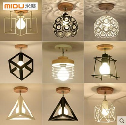 Nordic creative small ceiling lampPersonality modern minimalist led lamps