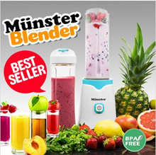 ★Can blend ice★GermanyDesign Munster Personal Smoothie Blender/Mixer/Smoothies maker/1year warranty