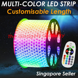 🔹RGB Waterproof Colorful LED Strip Lights🔹Remote Control Ceiling Light🔹Customisable Length🔹SG