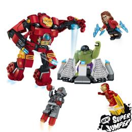 ★대륙의 실수 히어로 시리즈/ 카트특가 5불/리뷰 확인★배트멘 텀블러/ 헐스 버스터/SY357 HULK BUSTER★7105 batman tumbler★ Marvel Superheroes Iron Man Hall of Armors SY305 SY357 Captain America、Spider Man、Hulk、Batman、Ironman