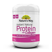 Natures Way Instant Natural Protein with Collagen 300g Expiry Date: June 2019