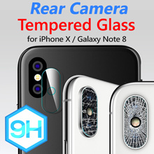 Phone joy Rear Camera 9H Tempered Glass★iPhone X/XS/XR/Max/8/7/6/Plus/Galaxy Note 9/S9/S8/Plus