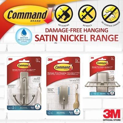 3M Command Brand Soap Dish Damage Free Hanging FREE SHIPPING