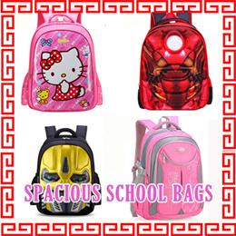 c391006fae31 Children school bag primary backpack kids child sling bag toddler outdoor  spacious