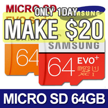 [MAKE $20!]★ SAMSUNG Micro SDXC 64GB EVO / EVO PLUS / Class 10 ★ Original SAMSUNG ★ Micro SD CARD