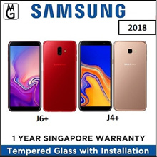 SAMSUNG J4+ 2/32GB I J6+ 4/64GB  2018 Local 1 Year Warranty By Samsung Singapore