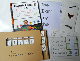 PHONICS LEARNING MATERIALS * ALL-INCLUDED-KIT * ALPHABETS *MONTESSORI *SG STOCK*Kindergarten**3-7 yr