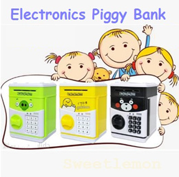Christmas/Birthday Gift! Cute Cartoon Electronics Piggy/Money Bank