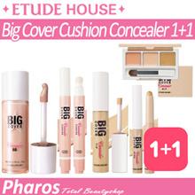 [Pharos] ★Etude House★ (1+1) Big Cover Cushion Concealer 5g / Big Cover Concealer BB 30g / Best!!