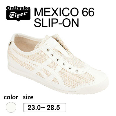 various colors 181ee 34439 Onitsuka Tiger(Japan Release) 2019 NEW ! Onitsuka tiger Japan/MEXICO 66  SLIP-ON Cream Cream/NEW arrival in Japan