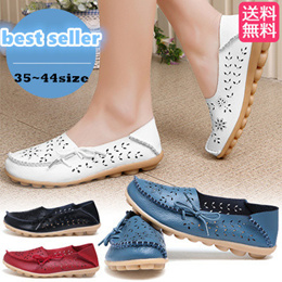 2c98cf17cfdb6 free shipping lightweight easy to wear leather shoes ladies shoes summer  moccasins shoes save 70%
