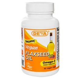 Deva Flaxseed Oil Vegan 90 Vegan Caps