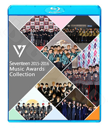 【Blu-ray】☆★SEVENTEEN 2016 MUSIC AWARD CUT☆Gaon Melon MAMA KBS MBC Seoul Awards 他【セブンティーン セブチ】