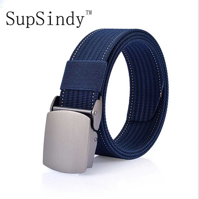 discount SupSindy men s canvas belt Alloy buckle men belt nylon military  belt Army tactical belts fo