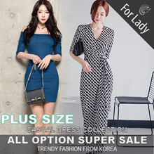 20th Aug Update New Arrivals ♥Korean Style♥ Linen / Casual Dress / LOOSE Fit  / Basic / Plus Size
