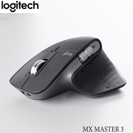 Logitech MX MASTER 3 Mouse Laser mouse Laser Wireless Bluetooth USB 4000dpi Multi Pairing 141g