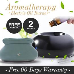 ★Lowest Price★BUY NOW! Electric Oil Burner / Vaporiser/ Aromatherapy Oil Diffuser.Aroma Vaporizer