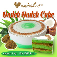 [Emicakes] NEW! Ondeh Ondeh Cake♥ 1KG ♥