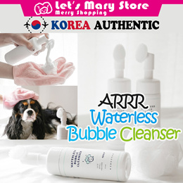 ◆ ARRR Waterless Bubble Cleanser ◆ For the partial cleansing / for the dog hate shower