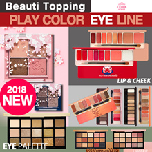 2018 NEW ARRIVAL★Etude House★Cherry Blossom Eyes/Play Color Eyes Palette