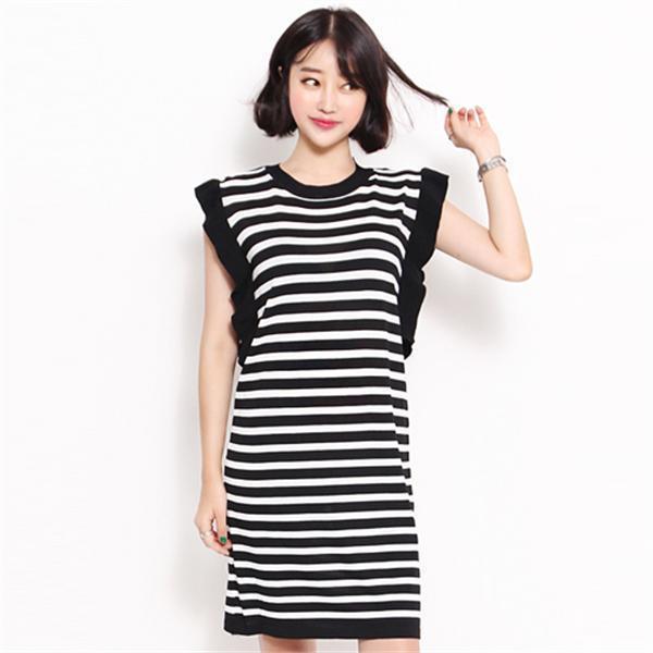 5021プレニット・ワンピースnew ニットワンピース/ワンピース/韓国ファッション