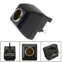 Cigarette Lighter Socket 240V Mains Plug To 12V Car Charger Power Adapter JS