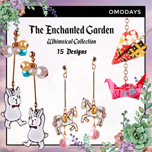 OMODAYS 🦄 Whimsical Collection - The Enchanted Garden 🦄 The Fun Carnival Necklace Earring Bracelet
