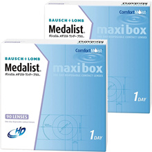 Medalist One Day Plus Maxi Box 90 pieces 2 boxes | Contact lens 1 day disposable contact lens 1day contact lens One day contact