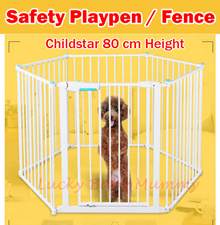 ★100% Authentic ChildStar★DIY Safety Play Pen for Baby/ Pets/ Kids/.Yard/ Fence Steel/Dog