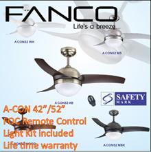 Fanco ceiling fan/ACON/A-con 52/Ceiling fan with light