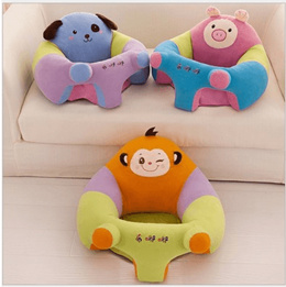 Kindergarten children&#39 s cartoon babe sofa couch plush tatami Chair lazy sofa removable and washa