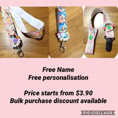 PersonaIised Dummy CIip//Strap ❤️Baby Gift.Metal Clip