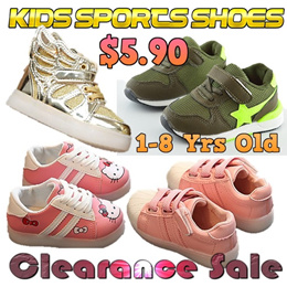 SELL AT LOSS★1-8 Yrs Old Kids Children Girls Boys Sports Shoes★Sneakers★Princess Shoes★Jelly Shoes★