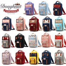 【 BUY 2 FREE SHIPPING】100% AUTHENTIC 💕HK Doughnut Macaroon Backpack💕 Travel bag/ Luggage/