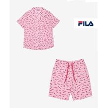 [5% OFF] FREE SHIPPING[Fila Underwear] Summer Print Women' s Pajama Set PJD2647/2648F/AUTHENTIC