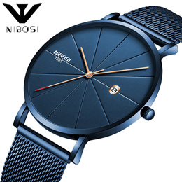 European and American fashion watch lovers network with casual quartz watches