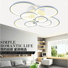 Ceiling light led round the living room bedroom dining room specials lobby modern minimalist fashion