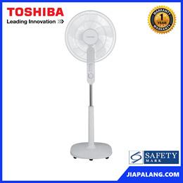 Toshiba 16 Inches Fan Blade Stand Fan W/ Timer F-LSA10(W)SG