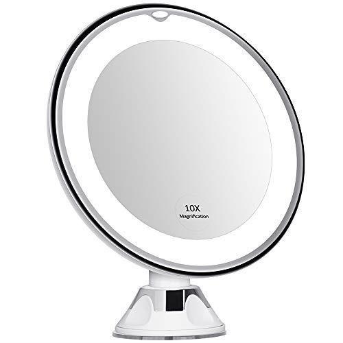 Kedsum 6 8 10x Magnifying Led Lighted, Kedsum 6 8 10x Magnifying Led Lighted Makeup Mirror