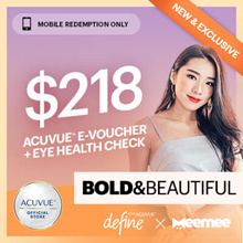 Mee Mee Bold n Beautiful Package at Special Price◆GWP $30 Sephora Voucher + Makeover worth $80