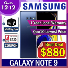 [MAKE $880] ★Mystery Box Event★ Samsung Galaxy NOTE 9 128GB / 1 Year Local Warranty