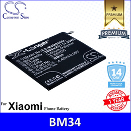 Original CS Mobile Phone Battery Model MUM340SL BM34 Xiaomi Mi Note Pro Battery
