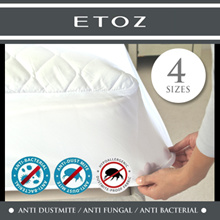 [ETOZ] Pillow Bolster Fitted Mattress Protector ★Microfiber Tread★Different Sizes Available