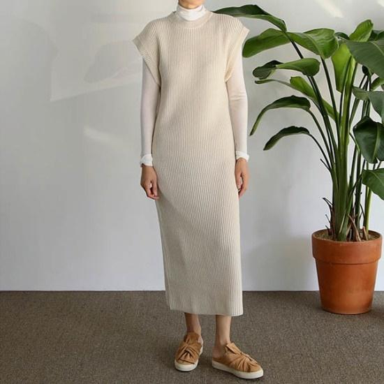 エンピオナ、ローニーニット・ワンピース ニット・ワンピース/ 韓国ファッション