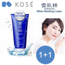 12.12 Special! Limited time only! 1+1 Kose Sekkisui White Washing Cream - 80g