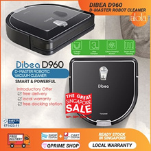 [▼GSS SALE]Dibea D960 D-Master Robot Cleaner with Water Tank