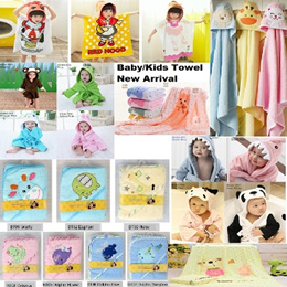 Buy More Pay Less Baby Towel/Hooded Blanket Soft Absorbent Bath/Face/Bath robes